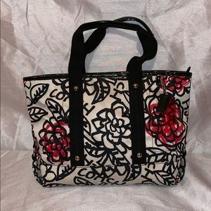 Coach Poppy Daisy Floral Graffiti Tote Bag